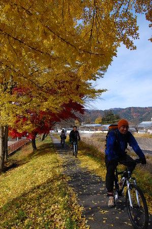 Satoyama Experience: 飛騨は山に囲まれているので、秋の風景もオススメです/ Autumn here is so gorgeous!
