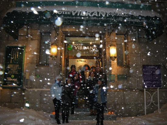 โฮเต็ล ไวบรานซ์ โอทารู: Always snowing in February