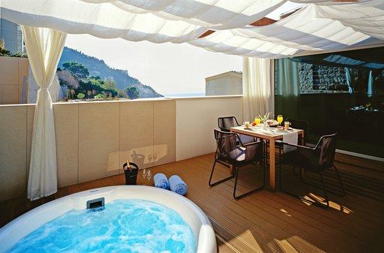 Villa Dubrovnik: Villa Kolin terrace