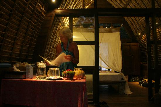"Cili Emas Oceanside Resort: ""ons"" huisje"