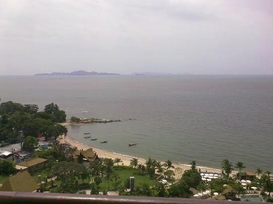 Centara Grand Mirage Beach Resort Pattaya : View from our room