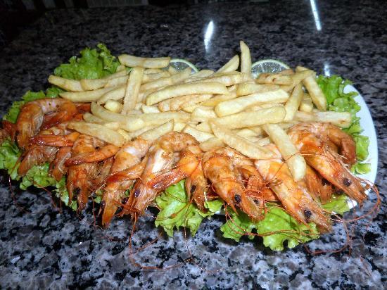 Camaroes Restaurante: camarones- que presentacion!!!