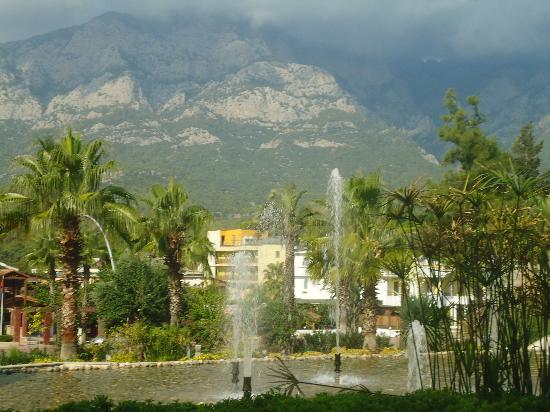 Barut Kemer : View from hotel entrance