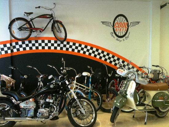 Cool Bikes (Self Guided Tours): Vehicles