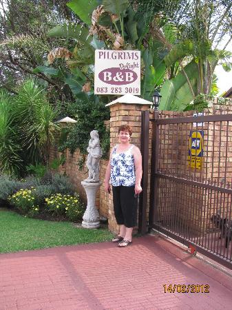 Pilgrims Delight B&B: Hanlie (owner and manager @ Pilgrims Delight)