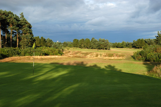 Tayport, UK: View from behind the 4th Green