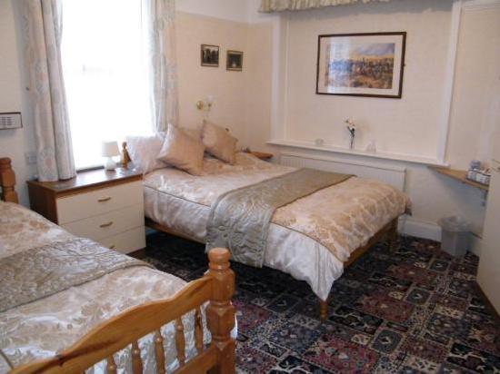 Knighton Lodge: twin room