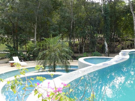 Hotel Oka'an : Pool area