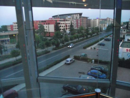 Hotel Calypso: View from the hotel elevator Сalipso