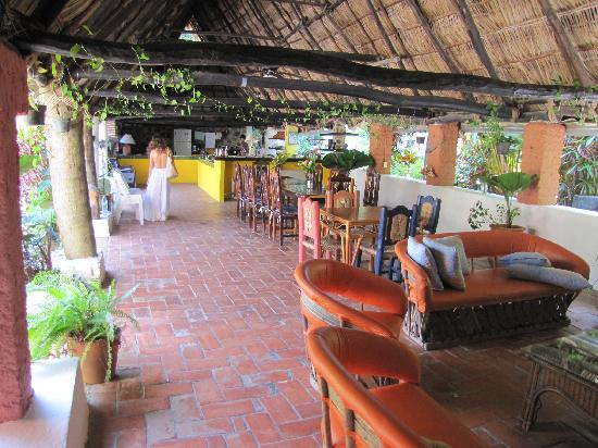 Casas de los Suenos: common area