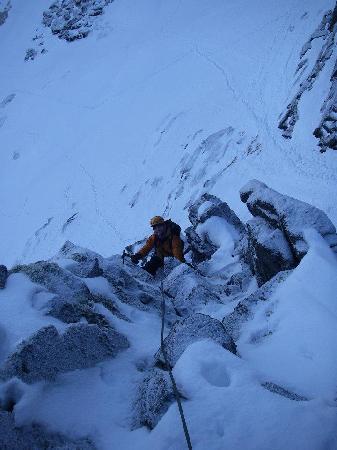 Cairngorm Adventure Guides: Winter Climbing, Coire an Lochan, Cairngorms