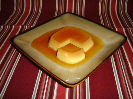 Sofrito Mama's : Caramel egg custard