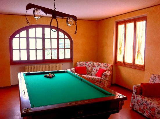 Sala da biliardo - Foto di Toscana Ranch, Scarperia e San Piero ...