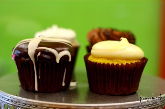 Sarasota Cupcake Company : The boston creme!