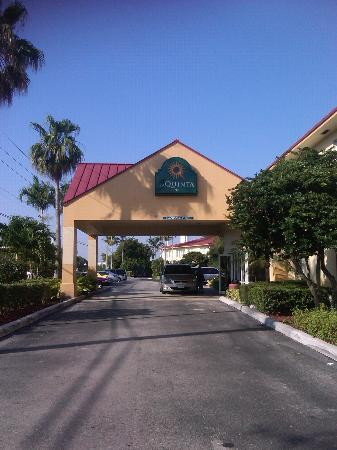 La Quinta Inn Ft. Lauderdale Northeast: L'ingresso