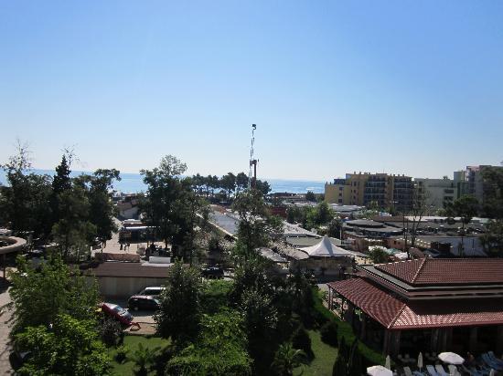 Alba Hotel: Utsikt från rummet