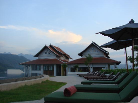 Luang Prabang View Hotel: days end