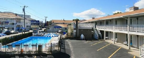 Beau Rivage Motel View Of 3 Buildings Beautiful Old Orchard Beach Me