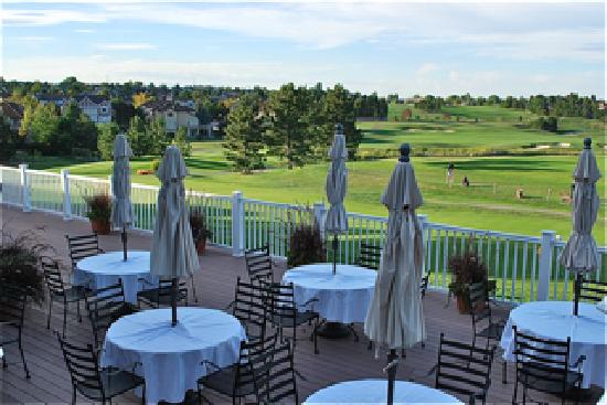Lone Tree Golf Club & Hotel: Our amazing view of the course