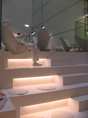 The Mirror Barcelona: zona del lobby