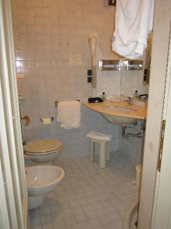 Hotel Alla Giustizia: Il bagno