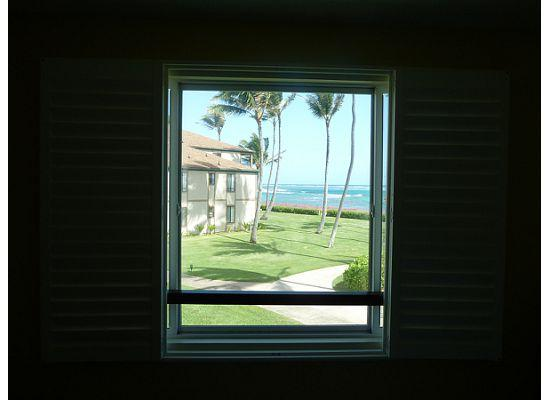 Pono Kai Resort: View from master bedroom - E201