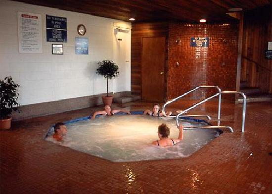 Burnaby Cariboo RV Park: Relax in our hot tub.