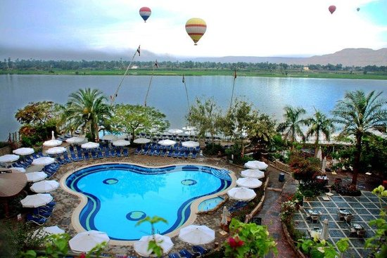 Steigenberger Nile Palace Luxor: Pool