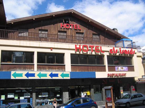 Hotel Refugi dels Isards: Fachada