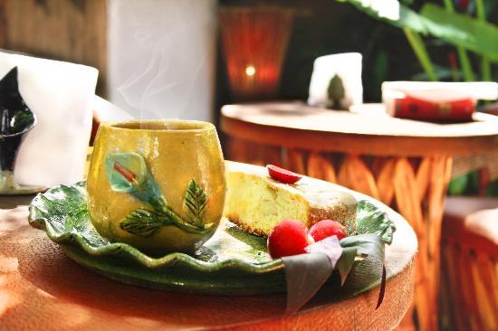 Cabanas Biuzaa': Café