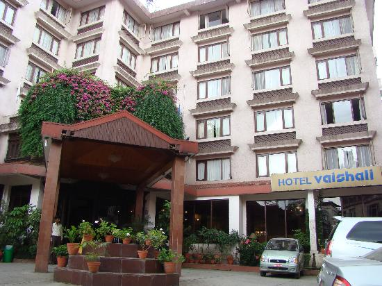 Hotel Vaishali: Entrance