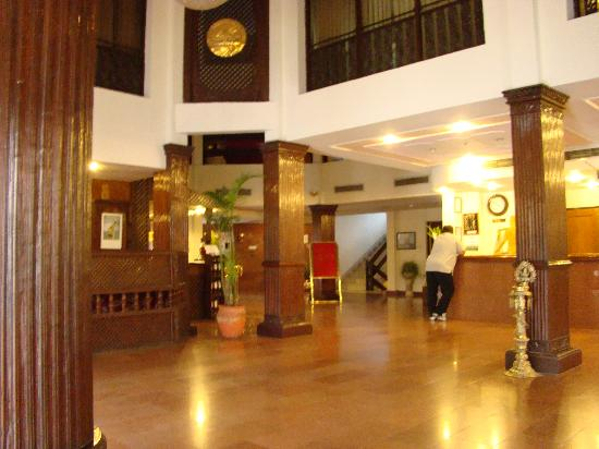 Hotel Vaishali: Reception