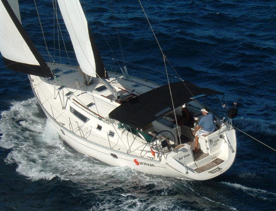 St. John Yacht Charters Survivan: Sailing on Survivan