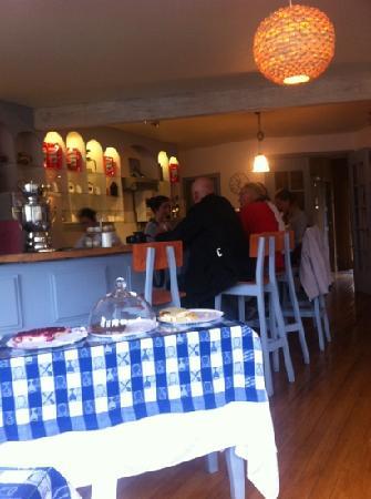 Cafe del Puente: interior café