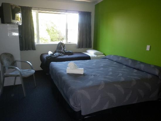 Silver Fern Lodge: Our room