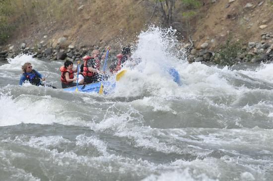 River Recreation Whitewater Rafting Day Trips: The Methow river never lets us down