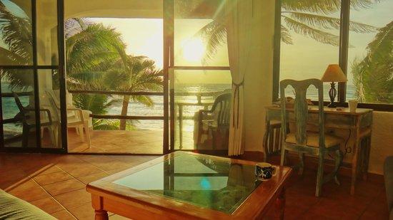 Luna Azul Condominiums: view fro livingroom