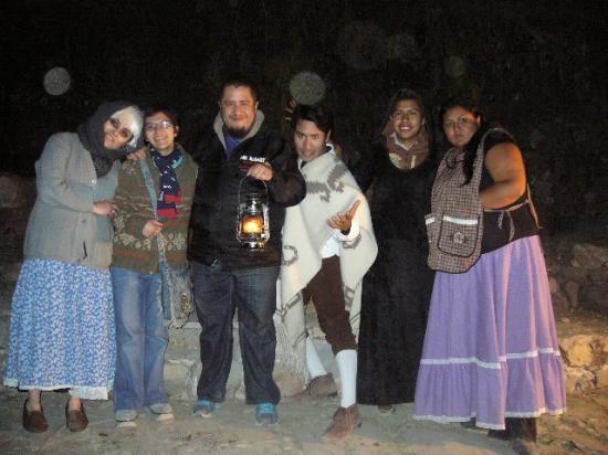 The Peña of Bernal: La gente que nos dio el recorrido de leyendas en Bernal