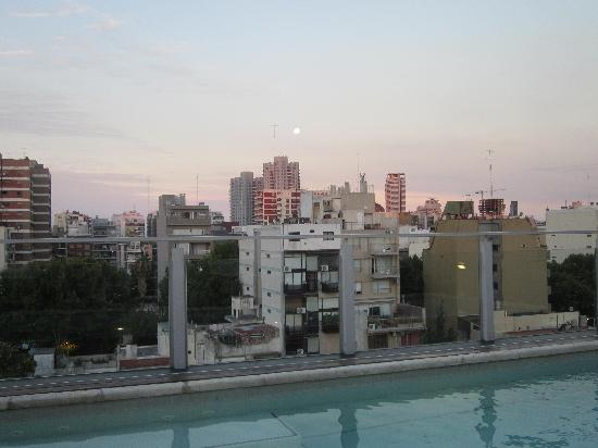 Fierro Hotel Buenos Aires: Summer Night from the Rooftop Pool