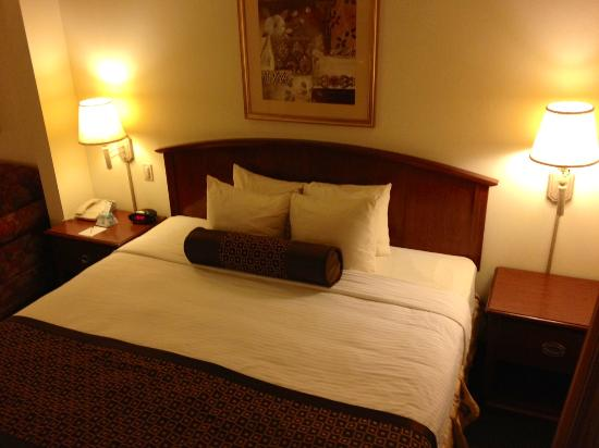 BEST WESTERN Coyote Point Inn: King bed