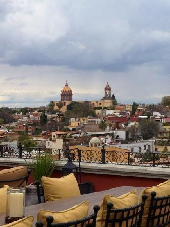 Rosewood San Miguel de Allende: vista desde la terraza