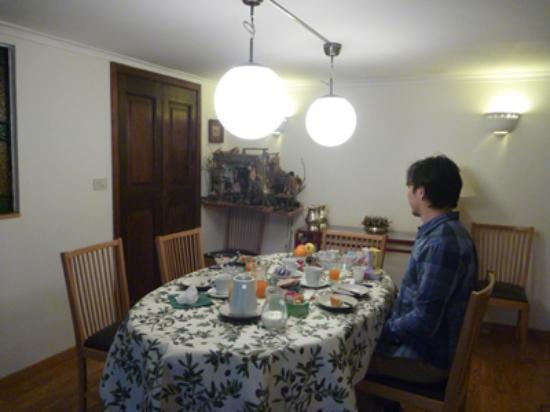 Week-end a Napoli: Breakfast.