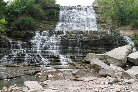 Waterfalls of Hamilton: Albion Waterfalls late summer