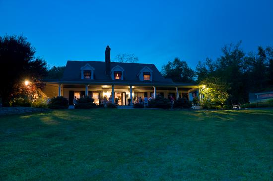 The Welsh Hills Inn: An Event at Dusk