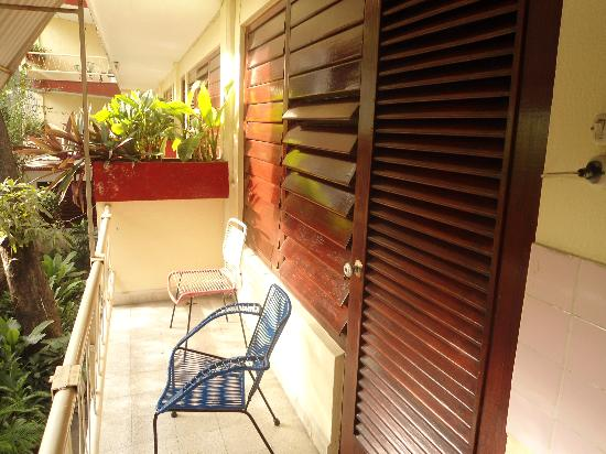 Hotel Los Reyes: TERRAZA ACOGEDORA