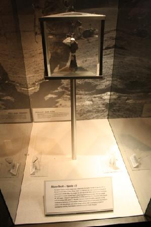 NASA Ames Visitor Center: Moon rock
