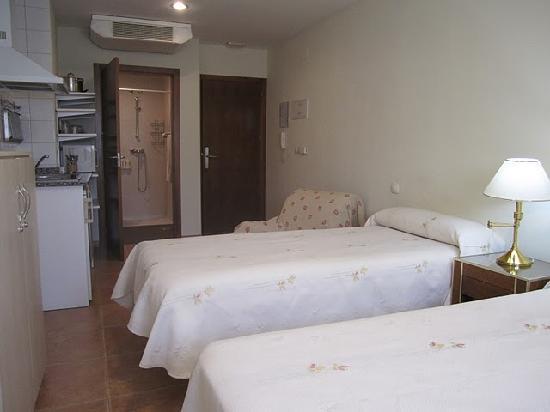 Hostal el Estudio: Habitación doble, camas separadas