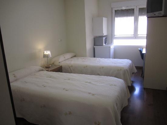 Hostal el Estudio: Habitación doble, camas separadas.