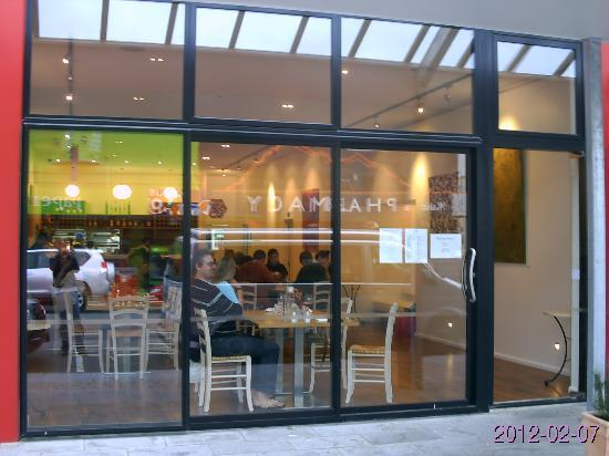 glass front - much light - picture of passione italian restaurant