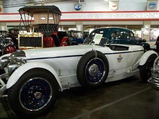 Automobile Driving Museum: 1929 Packard Speedster, the only one made.
